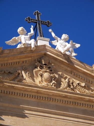 PARTICOLARE DELLA CHIESA DI SAN TOMMASO BECKET - Marsala (3253 clic)