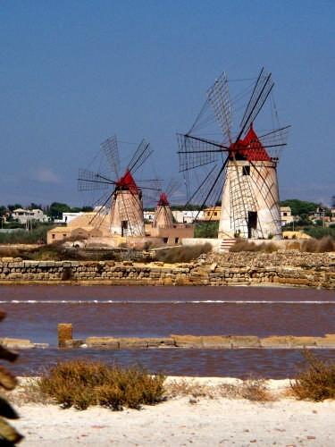 Mulini a vento - Marsala (4996 clic)