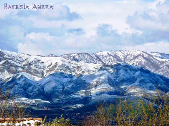 Nebrodi- La catena montuosa imbiancata (3718 clic)
