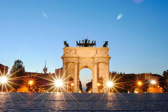 Arco della Pace - Milano (5533 clic)