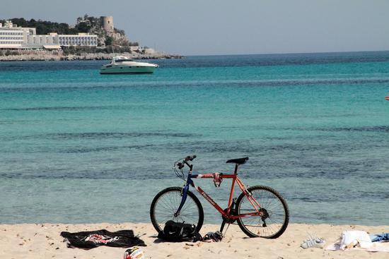 poso la bicicletta e prendo la barca - Palermo (2835 clic)