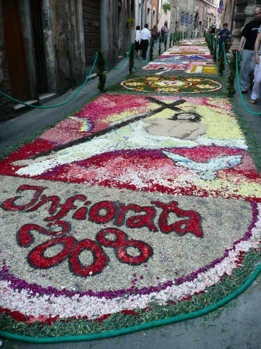 Infiorata 2008 - Tivoli (3986 clic)