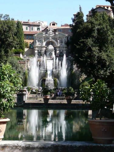 Giardino di Villa D'Este - Tivoli (3150 clic)