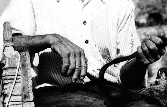 le mani. Il carrettiere - Modica (1395 clic)
