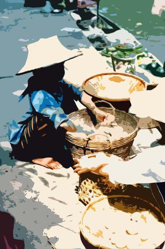 Bankok, mercato (595 clic)
