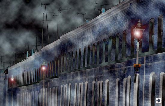 fascino d'altri tempi, ma con antenne sui tetti (506 clic)
