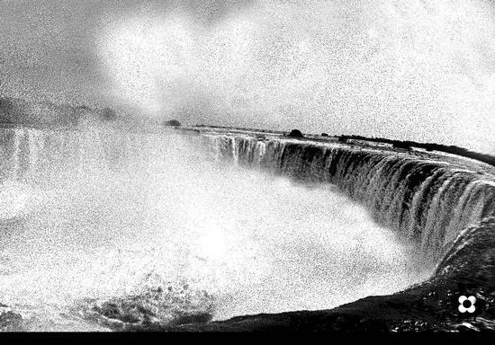 Niagara 1972, nuvole d'acqua (705 clic)