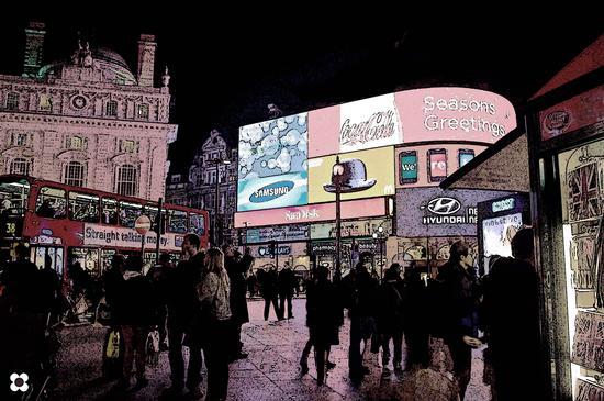 Piccadilly Circus, ieri, oggi e domani (715 clic)