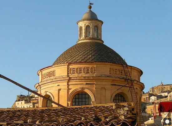 S. Giorgio, la cupola - Modica (2291 clic)