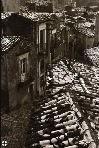 neve sui tetti, '68 - Modica (2947 clic)