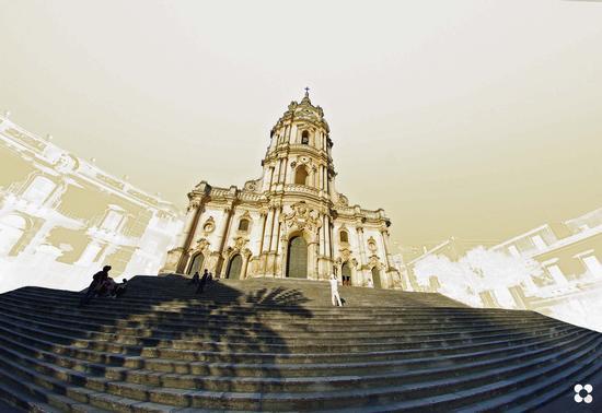 San Giorgio e parte della scalinata - Modica (859 clic)