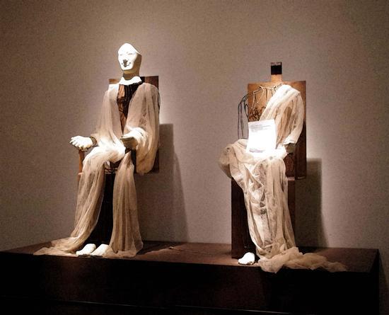 museo, acroliti della dea - Aidone (2803 clic)
