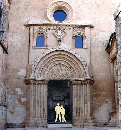Santa Maria del Gesù Il portale - Modica (3743 clic)