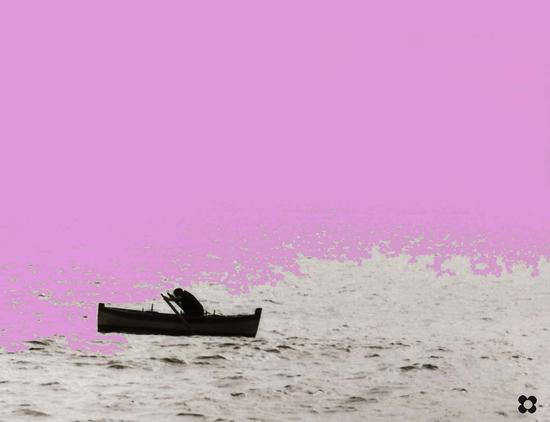 pescatore ai remi - Sampieri (2070 clic)