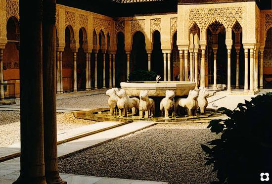 Alhambra Fontana dei Leoni (787 clic)