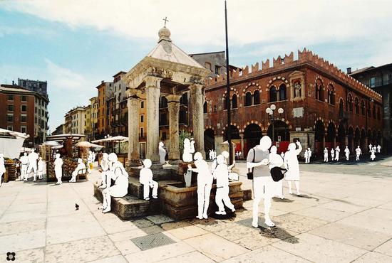 Piazza delle Erbe - Verona (1656 clic)