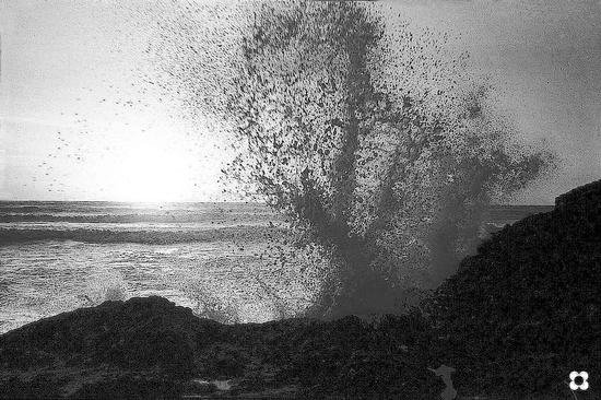 esplosione d'onda - Cava d'aliga (2323 clic)