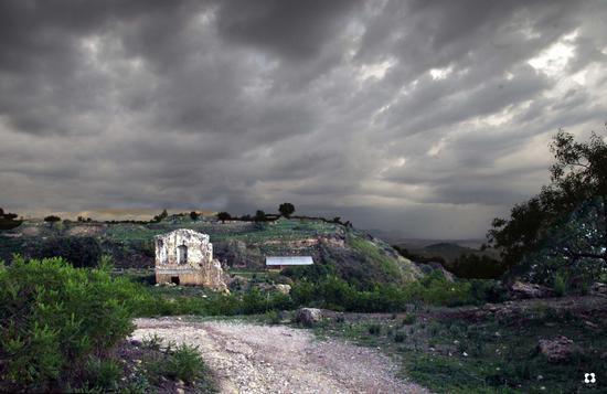 nel sito archeologico - Morgantina (1340 clic)