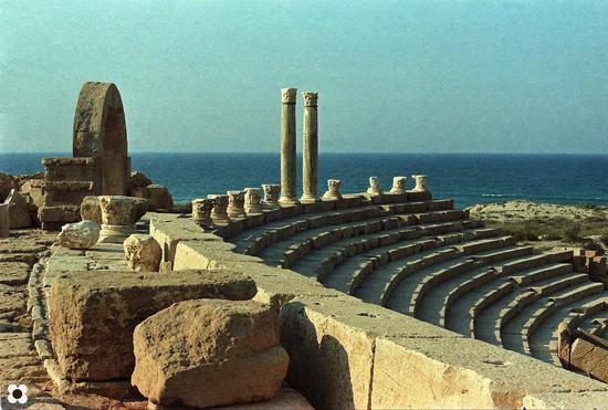 Libia, Leptis Magna Anfiteatro Romano  (1144 clic)