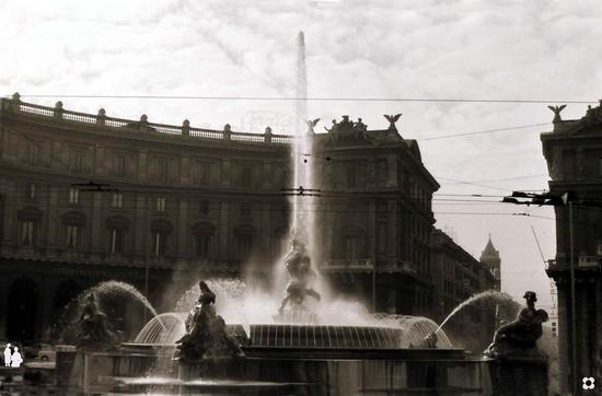 La Fontana dell'Esedra - Roma (1821 clic)
