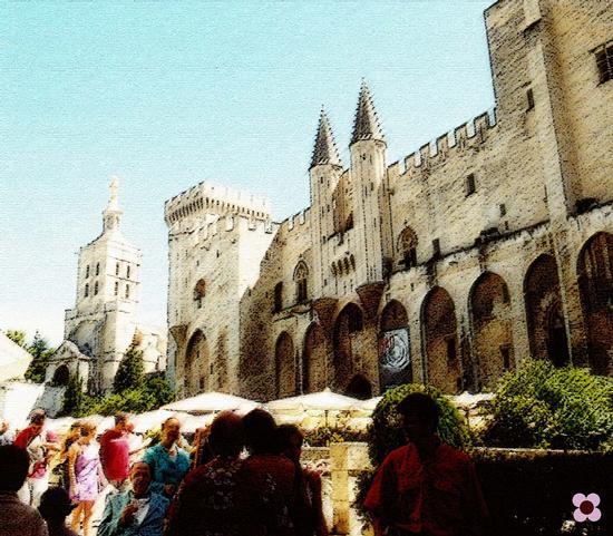 Avignone, terra di Papi (627 clic)