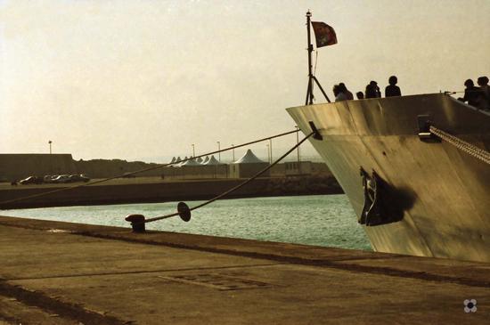 nel porto verso il tramonto - Pozzallo (683 clic)