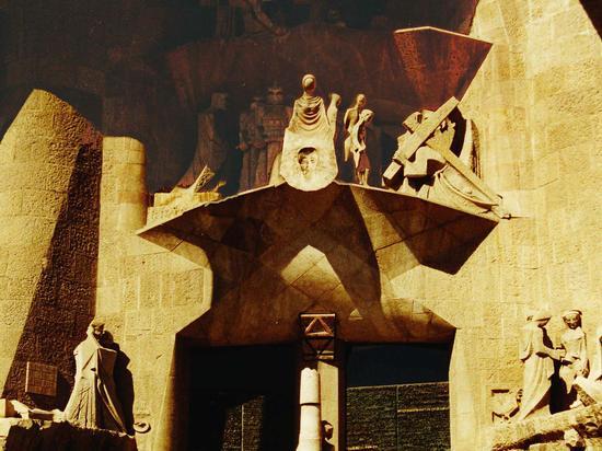 Barcellona, Gaudi, La Sagrada Familia particolare (447 clic)