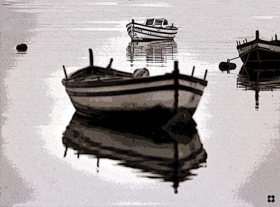 la quiete nel porto - Siracusa (2953 clic)