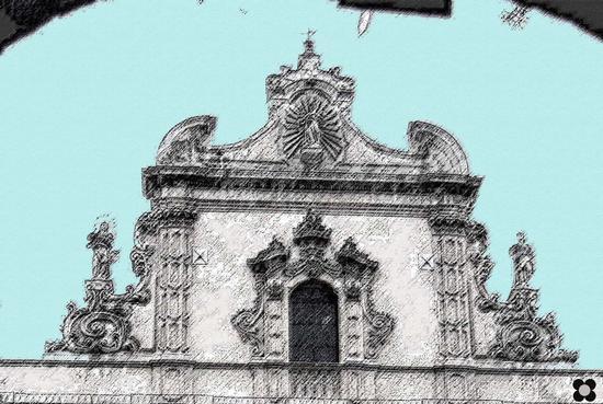 San Pietro, particolare - Modica (1670 clic)