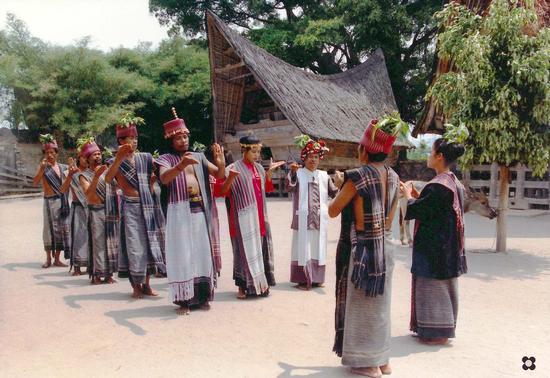 Sumatra, i Batak del lago toba (902 clic)
