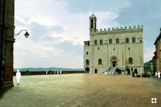 Piazza Grande - Gubbio (1580 clic)