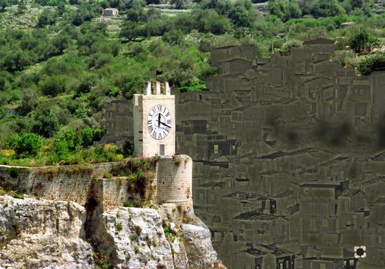 l'orologio del castello - Modica (937 clic)