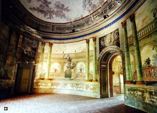 La Villa, il Vestibolo o Sala di Ercole - Bagheria (3129 clic)
