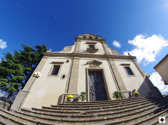 Chiesa Madre 1340, la facciata è del 1693 - Calascibetta (3214 clic)