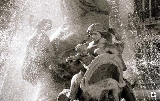 Fontana di Diana, particolare  - Siracusa (2027 clic)