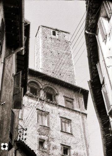 Torre dell'Olio, in occasione della 1° Settimana Nazionale del Veterano Sportivo, 22 giugno '66                  - Spoleto (3520 clic)