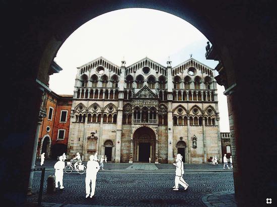 Duomo di S. Giorgio - Ferrara (1826 clic)