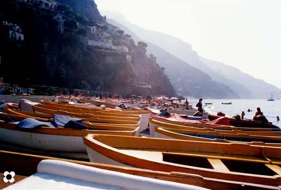 Positano, la spiaggia (2277 clic)