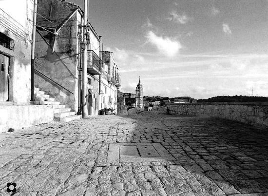 San Giorgio chiesa e vicoli - Modica (1005 clic)