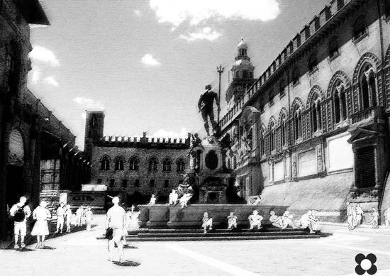 Fontana del Nettuno - Bologna (1506 clic)