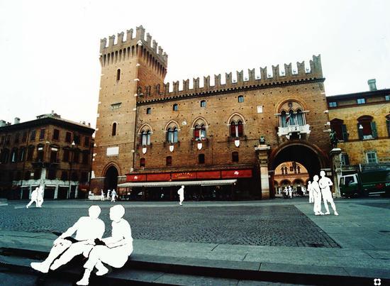 Palazzo Comunale - Ferrara (2255 clic)
