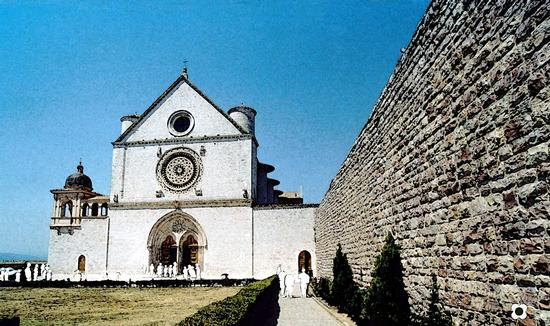 Chiesa di San Francesco - Assisi (1227 clic)