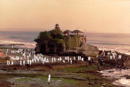 Bali, Tempio di tanah lot (860 clic)