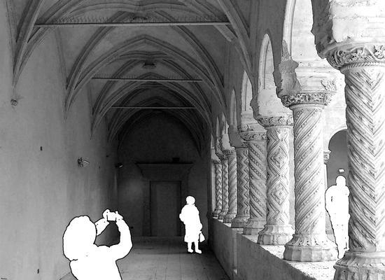Santa Maria del Gesù  Il Chiostro - Modica (2181 clic)
