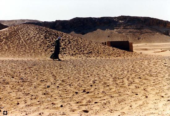 a pochi passi dal Nilo il deserto (562 clic)