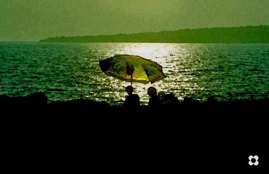 ombrellone al Pisciotto - Sampieri (1635 clic)