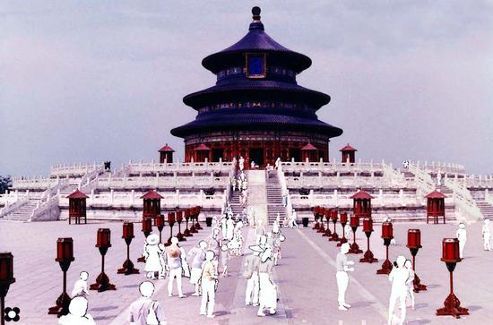 Pechino, Tempio del Cielo (833 clic)