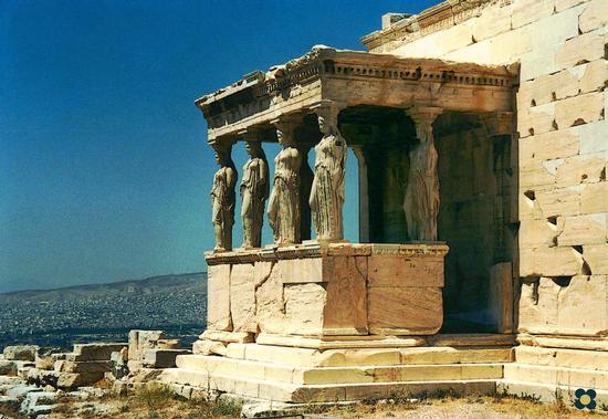 Atene, Partenone Cariatidi (2652 clic)