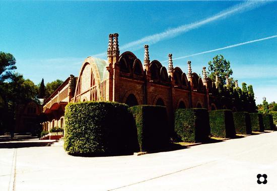Codornìu, Casa Vinicola dal 1551 in Spagna, esempio di achitettura Catalana. (563 clic)