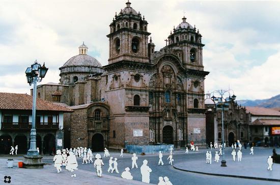 Perù, Chiesa della Compagnia a Cusco (591 clic)